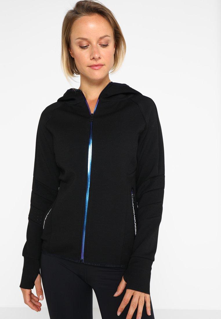 Women CORE GYM TECH PANEL  - Zip-up sweatshirt