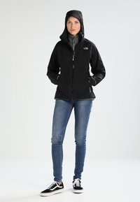 The North Face - STRATOS JACKET - Hardshelljacke - black - 1
