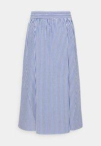 Monki - A-line skirt - blue/bright - 6