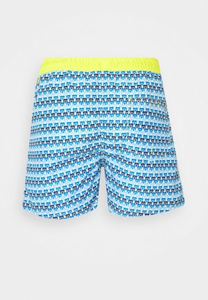 JJIARUBA GEOMETRIC - Swimming shorts - blazing yellow