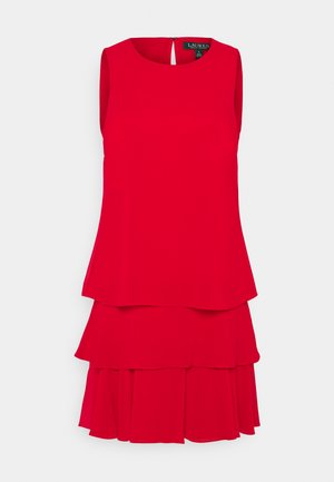 CLASSIC SOLID DRESS - Day dress - orient red