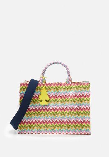 SUNNY BAY SHOPPER SET - Tote bag - yellow