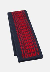 Tommy Jeans - LOGO TAPE SCARF - Bufanda - blue - 0
