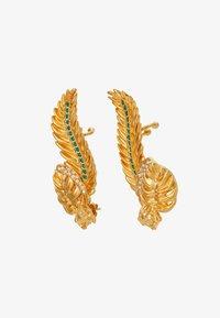 Versace - ORECCHINI - Boucles d'oreilles - verde/oro tribute - 4