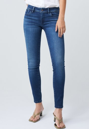 PUSH UP - Jeans Skinny Fit - blau