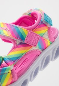 Skechers - HYPNO-SPLASH RAINBOW LIGHTS - Sandals - multicolor - 2