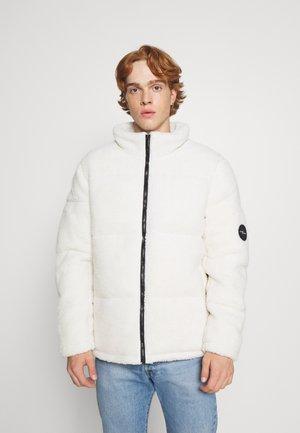 BORG JACKET UNISEX - Winter jacket - white