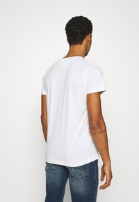 Tommy Jeans - CNECK TEES 2 PACK - T-shirt basic - white - 2