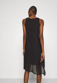 Desigual - VEST ROMA - Cocktail dress / Party dress - black - 2