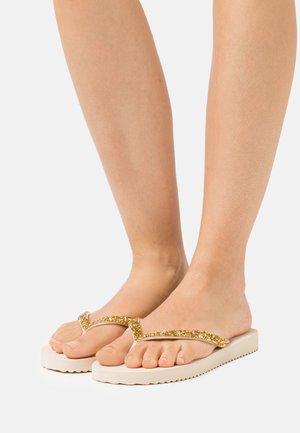 SPARKLE - T-bar sandals - sombrero