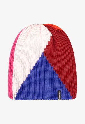 COLORBLOCK - Beanie - rio red