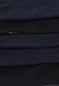 Jack & Jones - JACFLYING SOCKS 5 PACK - Ponožky - navy blazer/black - 2