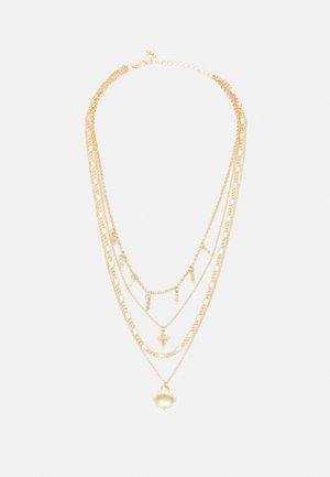 PCSKU COMBI NECKLACE - Necklace - gold-coloured