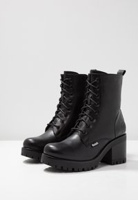 Dockers by Gerli - Platform ankle boots - schwarz/dunkelgrau - 4