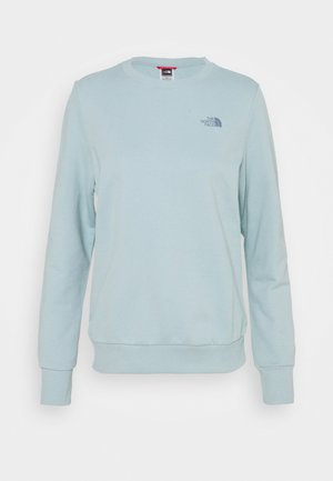 CREW TOURMALINE - Sweatshirt - tourmaline blue