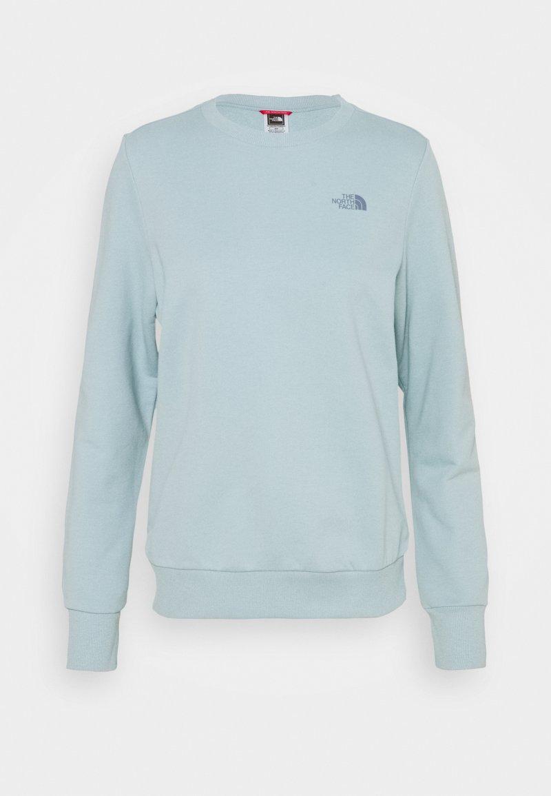 The North Face - CREW - Sweatshirt - tourmaline blue