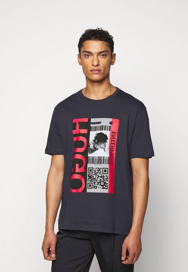 DIDENTITY - Camiseta estampada - dark blue