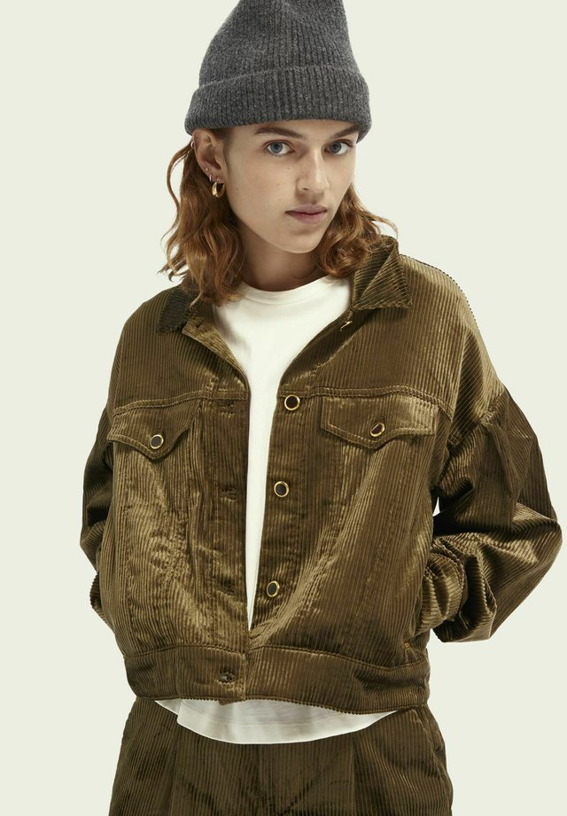 Light jacket - military green