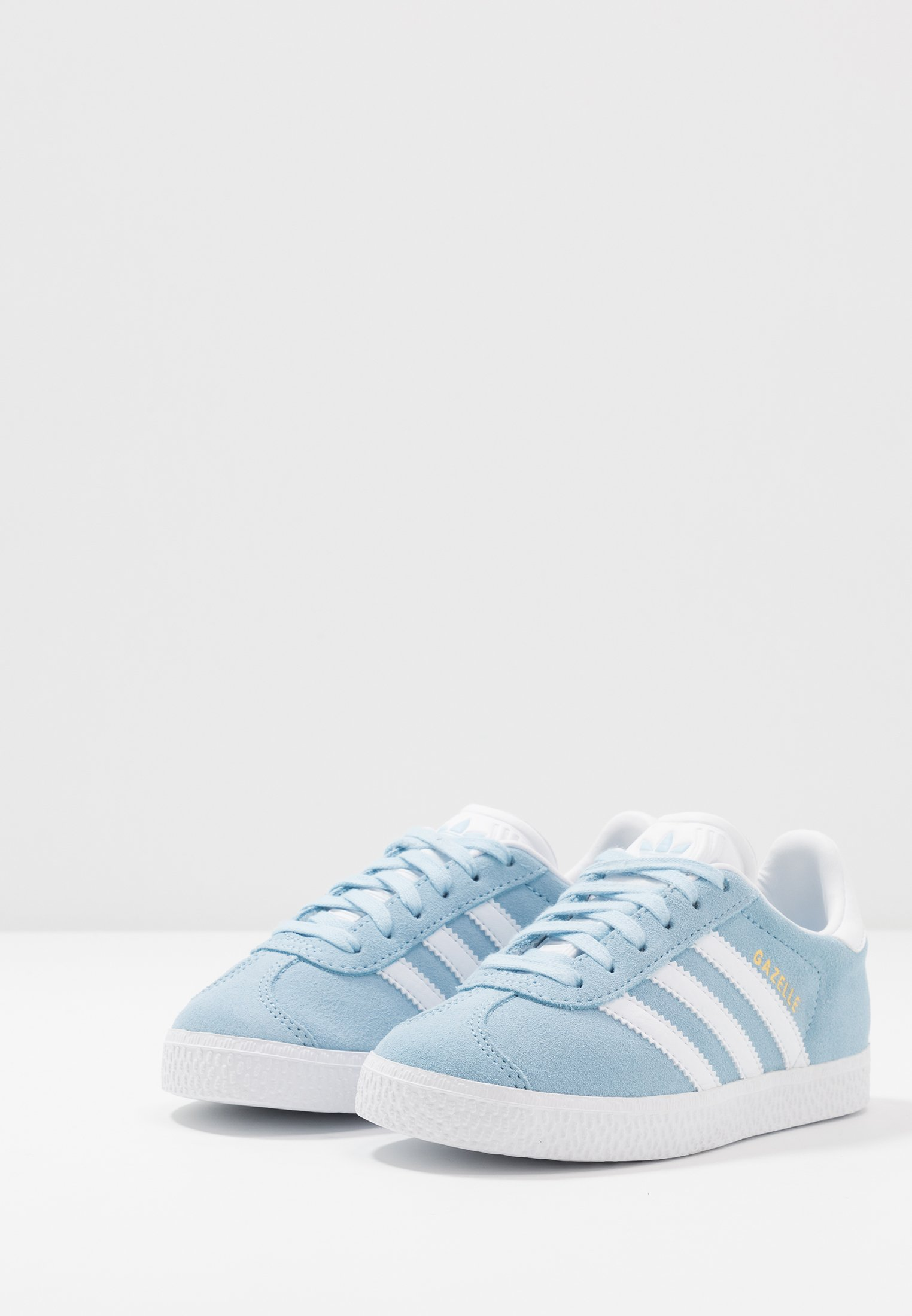 Adidas Originals Gazelle - Joggesko Clear Sky/footwear White/gold Metallic