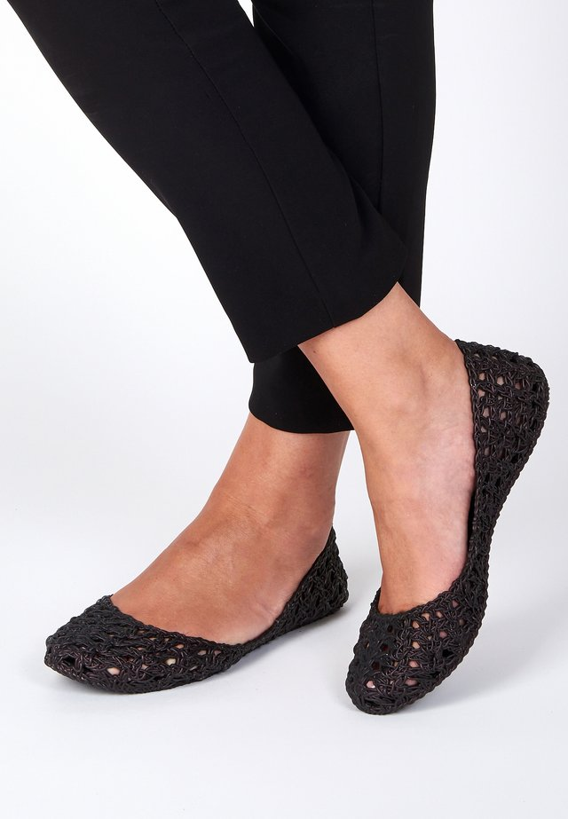 CAMPANA - Foldable ballet pumps - black