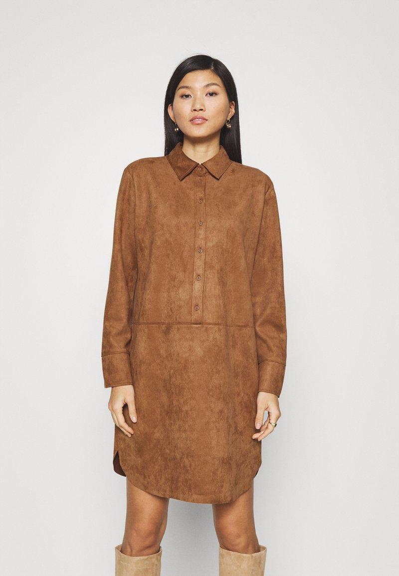 Opus - WESA - Shirt dress - peanut