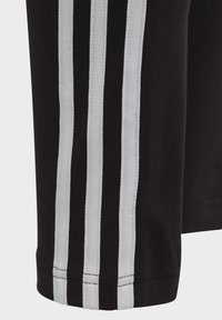 adidas Performance - 3-STRIPES COTTON LEGGINGS - Legginsy - black - 4