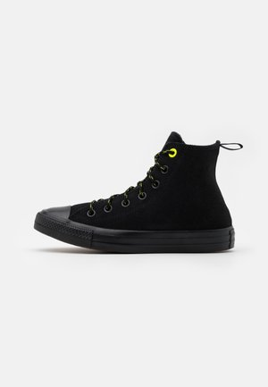 CHUCK TAYLOR ALL STAR UNISEX - Höga sneakers - black