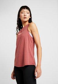 Nike Performance - DRY TANK YOGA  - T-shirt de sport - dark red - 0