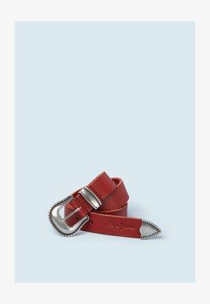 MIRTA - Belt - winter red