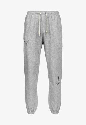 Tracksuit bottoms - dark grey heather / dark steel grey