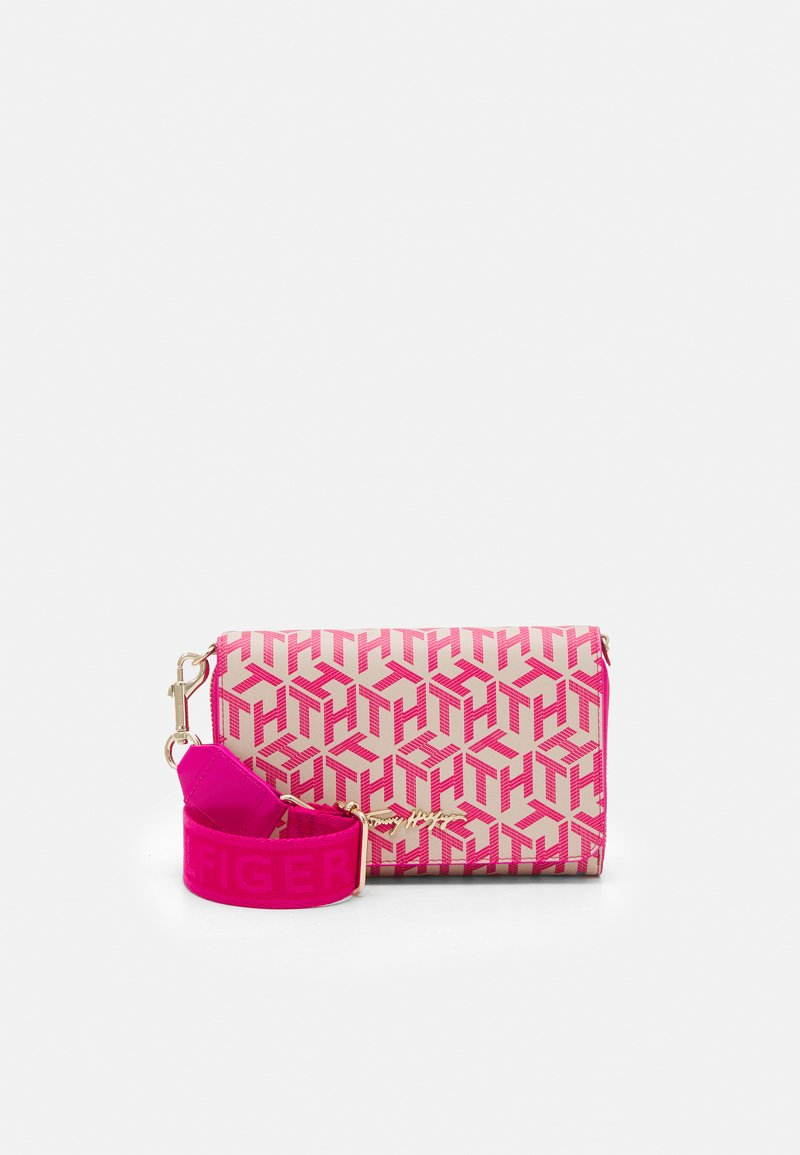 Tommy Hilfiger - ICONIC CROSSOVER MONO - Wallet - pink