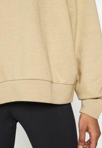 Weekday - HUGE CROPPED - Sweatshirt - beige - 6