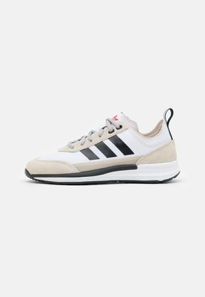 SL 7200 UNISEX - Sneakers basse - footwear white/core black/clear brown