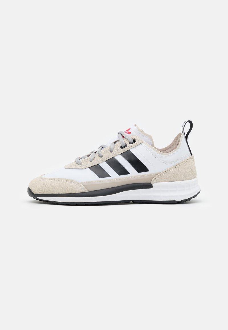 adidas Originals - SL 7200 UNISEX - Trainers - footwear white/core black/clear brown
