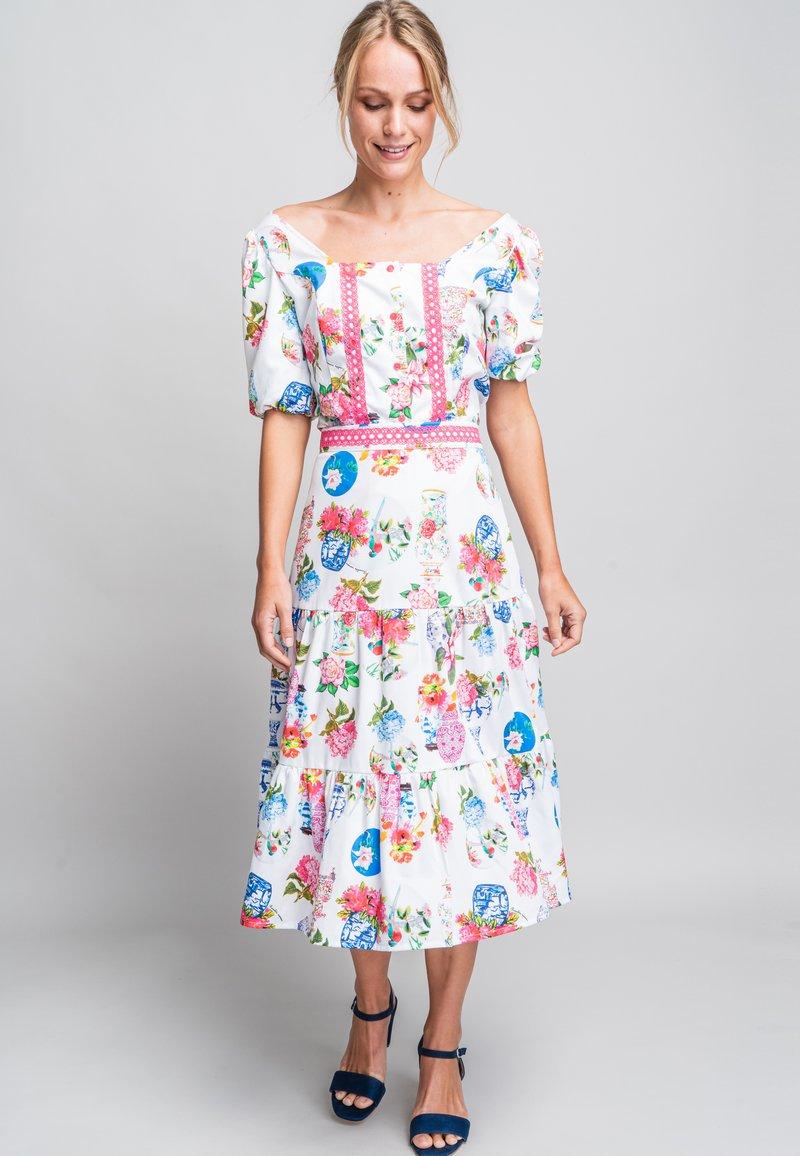 Rosalita Mc Gee - A-line skirt - white