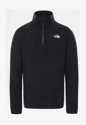 M RESOLVE FLEECE 1/4 ZIP - EU - Fleecetrøjer - black