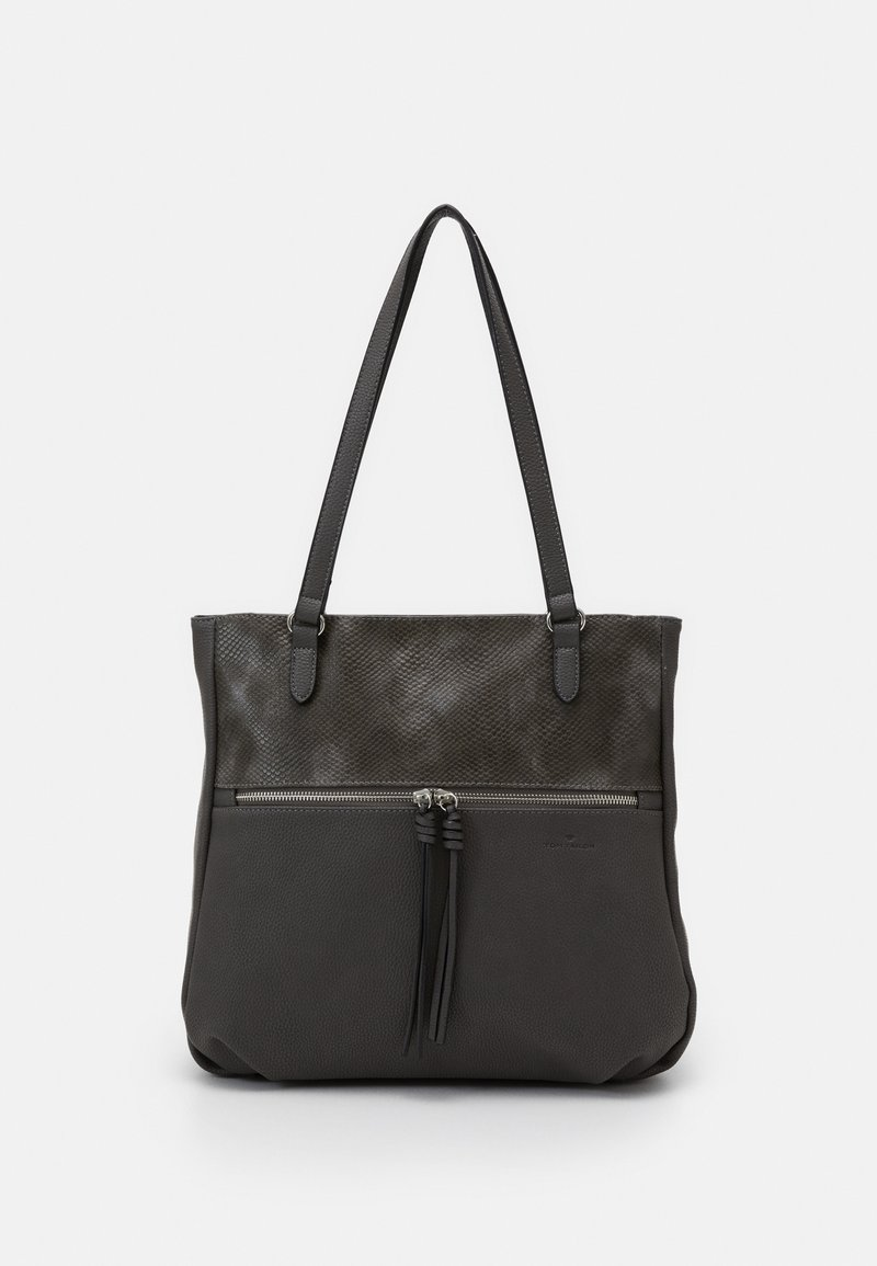 TOM TAILOR - HELINA - Handbag - grey