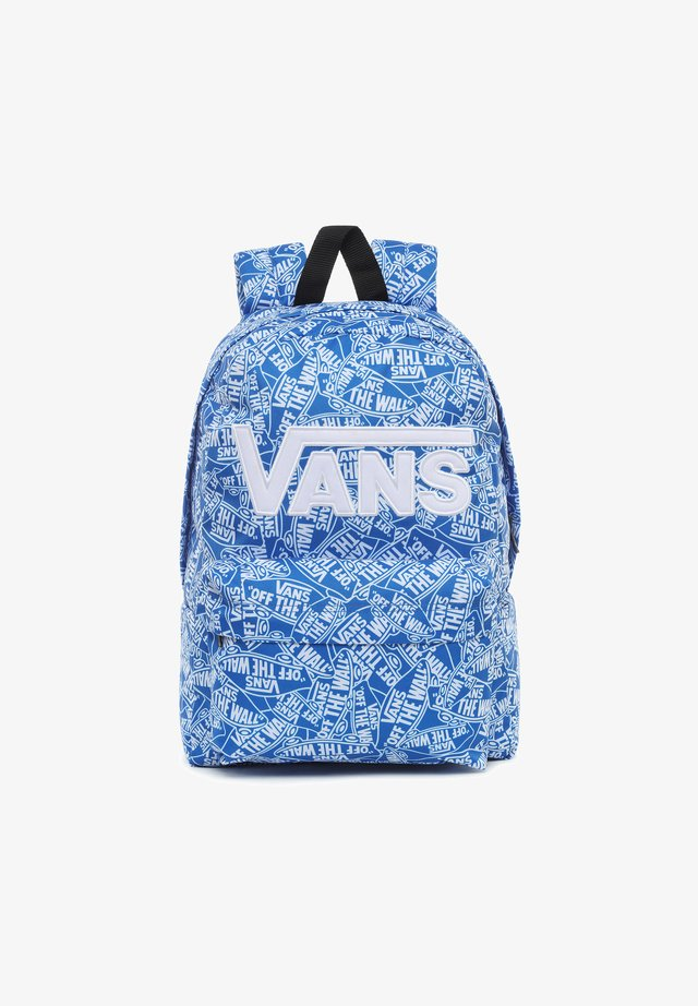 UY NEW SKOOL BACKPACK BOYS - Rugzak - white-victoria blue