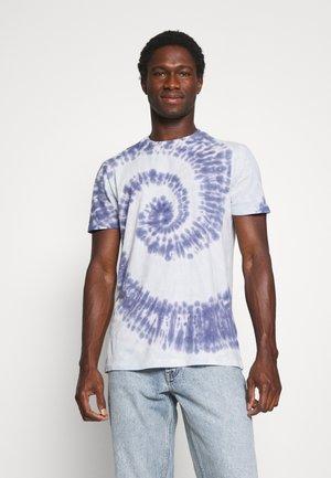 CREW TIE DYE - Print T-shirt - blue