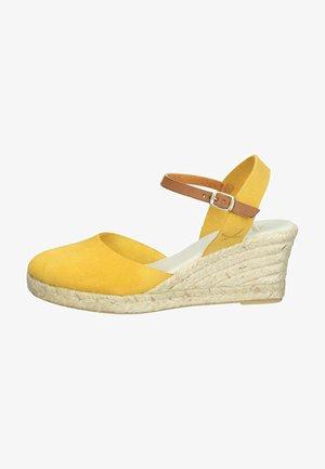 Sleehakken - gelb