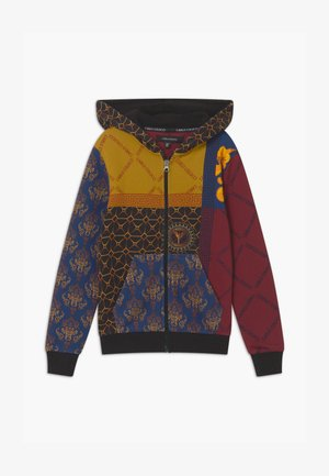 HOOD UNISEX - Zip-up hoodie - yellow/royal/bordeaux