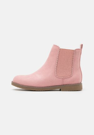 SCALLOP GUSSET BOOT - Classic ankle boots - earth clay