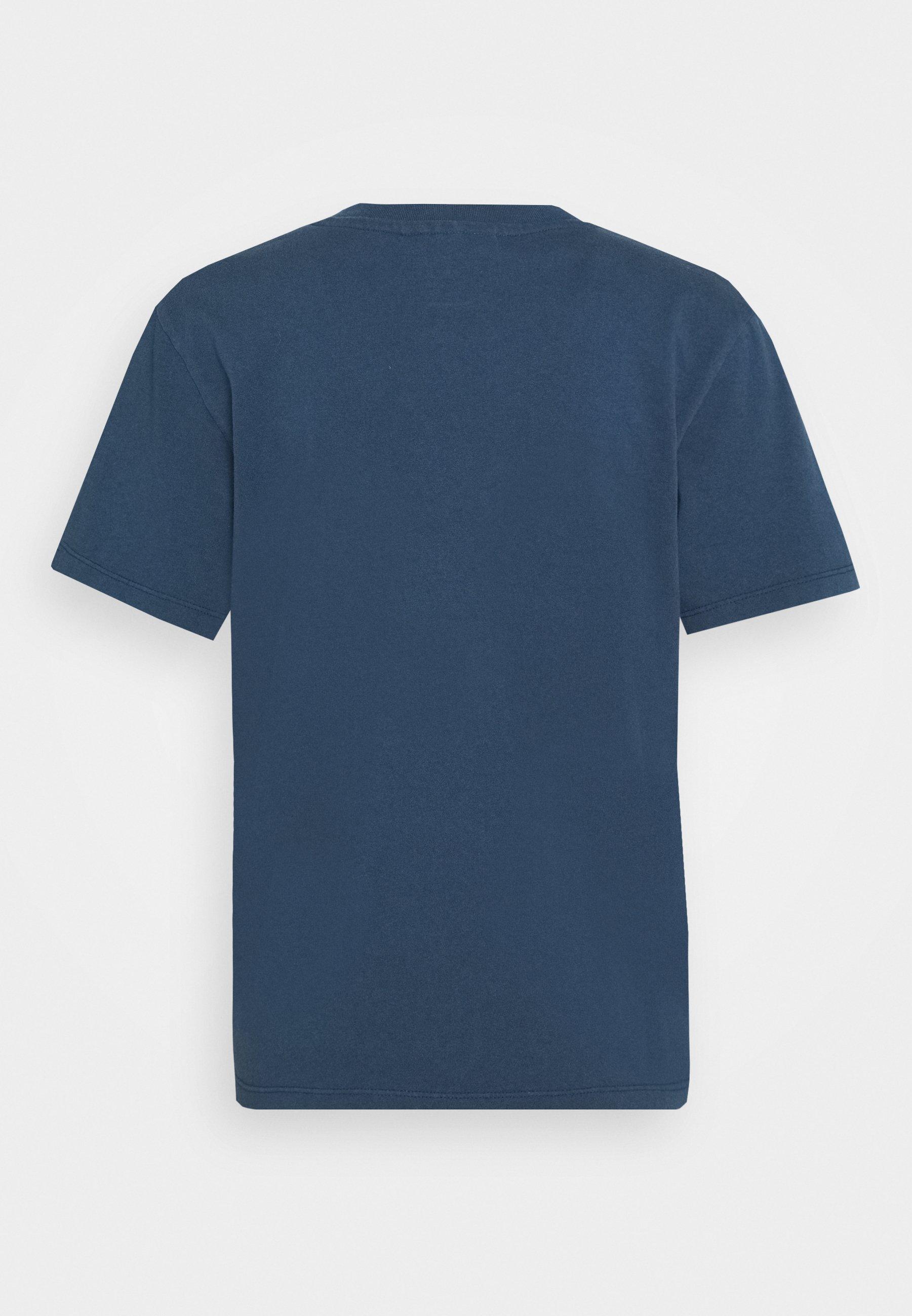 Han Kjøbenhavn Artwork Tee - T-shirts Med Print Faded Navy/mørkeblå