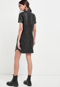 Next - Shirt dress - black - 1