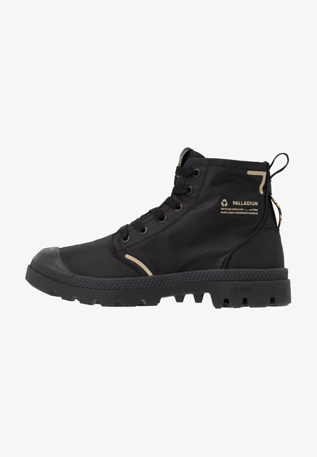 PAMPA LITE+ WP+ UNISEX - Lace-up ankle boots - black
