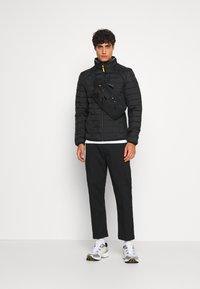 TOM TAILOR - HYBRID JACKET - Light jacket - black - 1