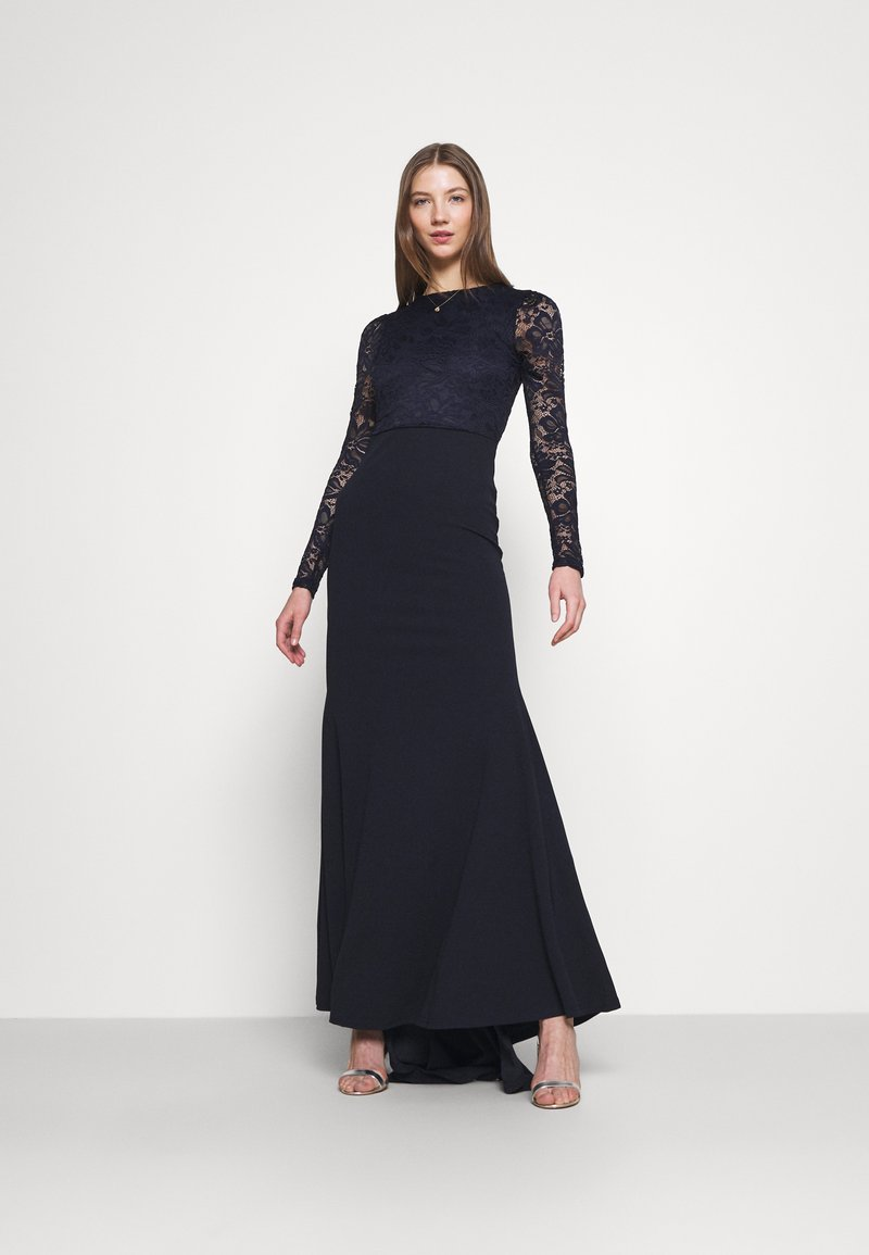 Missguided - BODICE BRIDESMAID DRESS - Occasion wear - navy