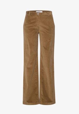 STYLE MAINE - Trousers - walnut