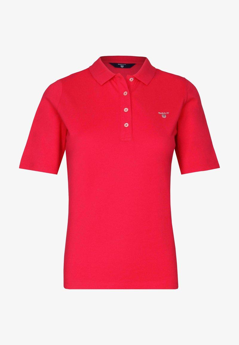 GANT - Polo shirt - rot