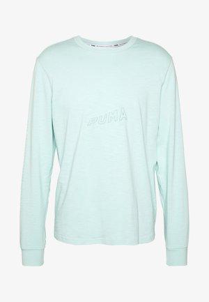 HOOPS BOUNCE TEE - Long sleeved top - mist green